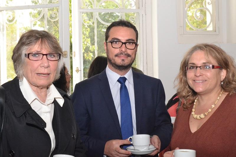 Joan MacDonald, Ignacio Lledó, Claudia Bustos